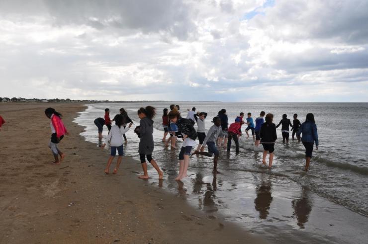 La plage avant la pluie (3)