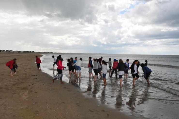 La plage avant la pluie (4)