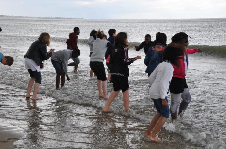 La plage avant la pluie (8)