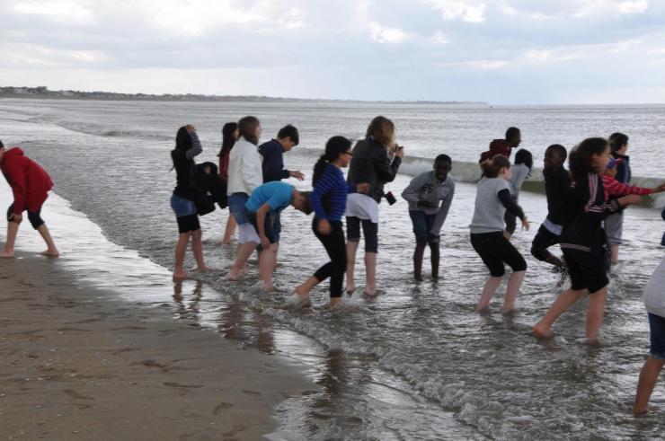 La plage avant la pluie (9)
