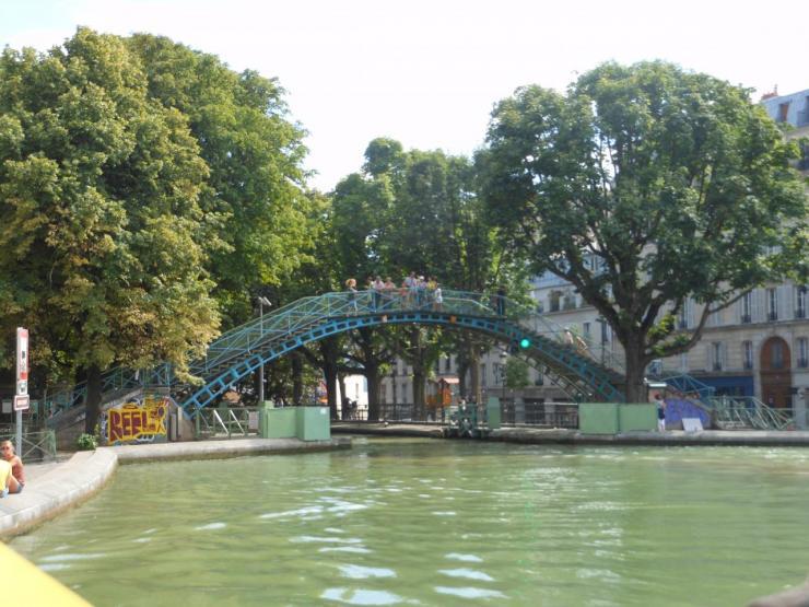 Le canal Saint Martin (44)